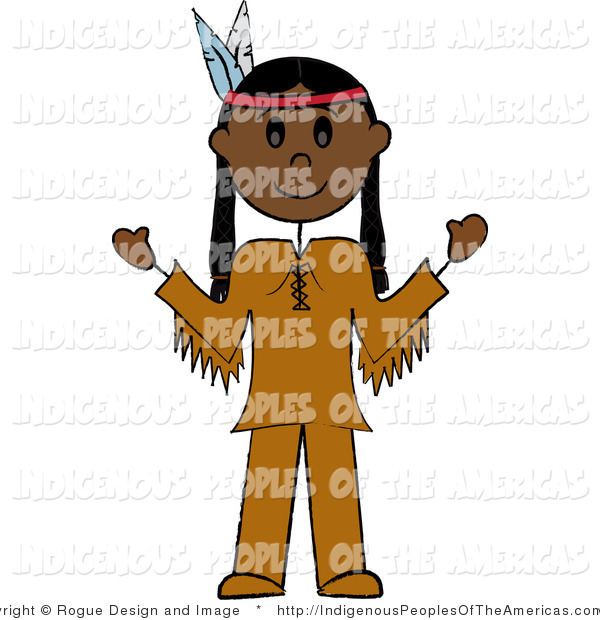 Native American Indian Man Native American Clip Art Pams Clipart