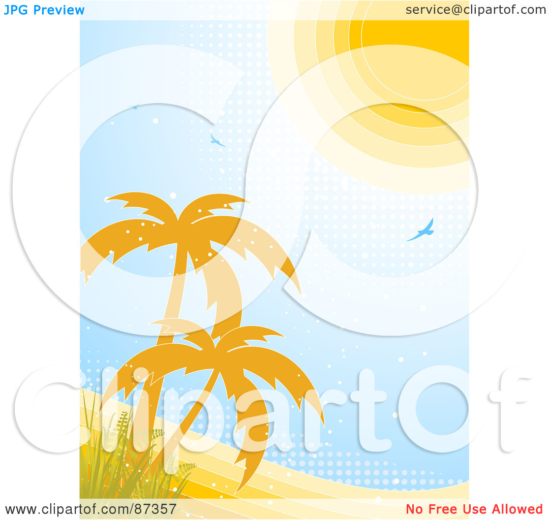 Tropical Vertical Clipart - Clipart Kid
