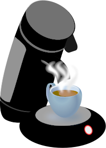 Share Coffee Machine Clipart With You Friends