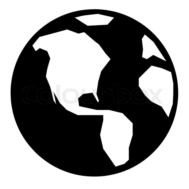 Simple Globe Vector 3560407 261960 Simple Globe Icon Jpg