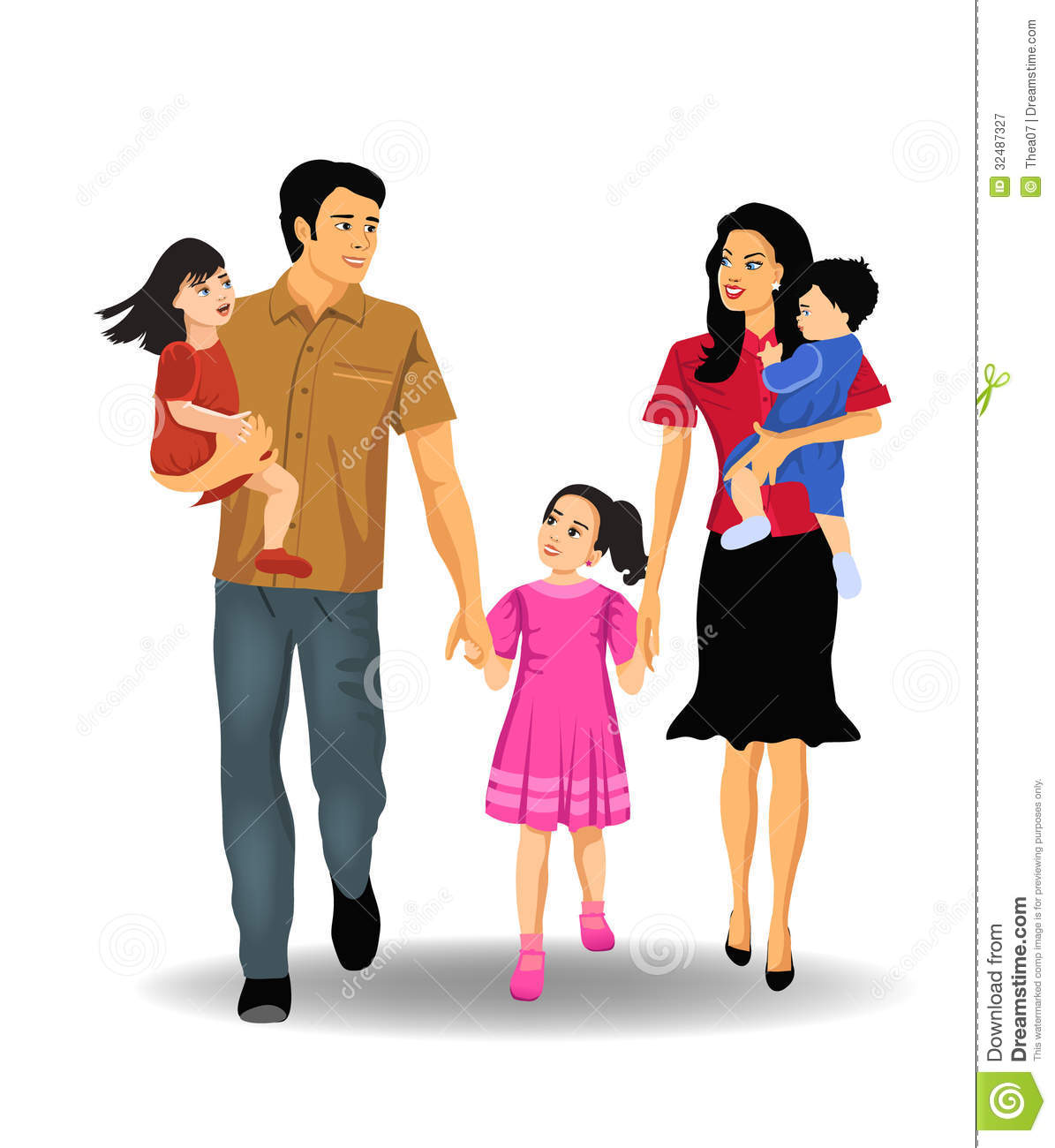 Son And Daughter Clipart - Clipart Kid