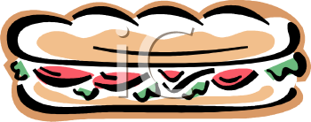 0511 1101 2414 4431 Cold Cut Sub Clipart Image Jpg