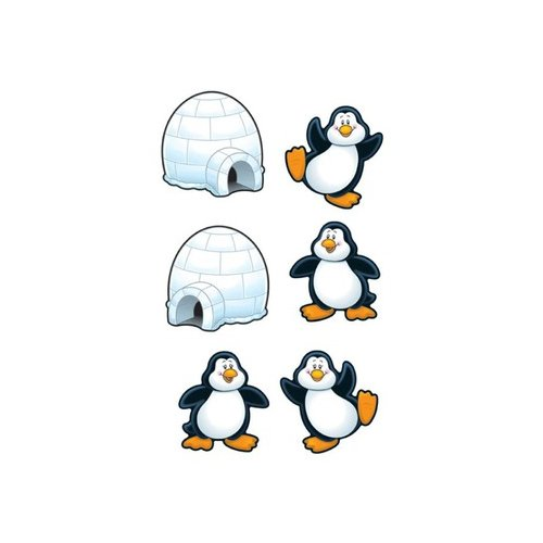 Carson Dellosa Publishing Penguins And Igloos Cut Out Buddies At Sears