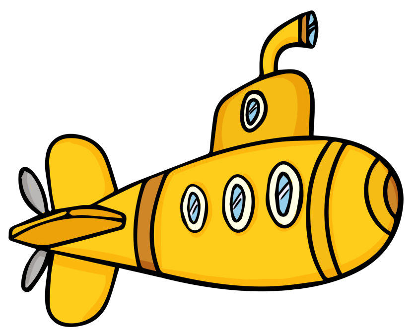 Clipartlord Com Exclusive This Cute Cartoon Submarine Clip Art Is