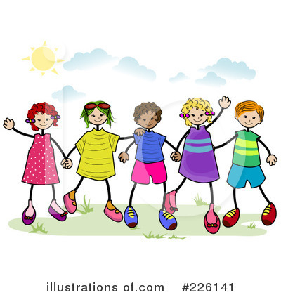 Friends Clipart  226141   Illustration By Bnp Design Studio