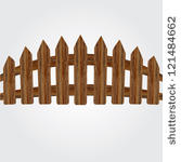 Wood Gate Clipart - Clipart Kid
