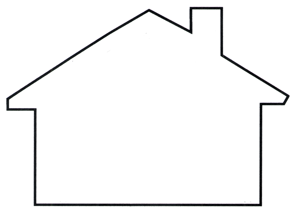 House Outline Teplate   Free Cliparts That You Can Download To You