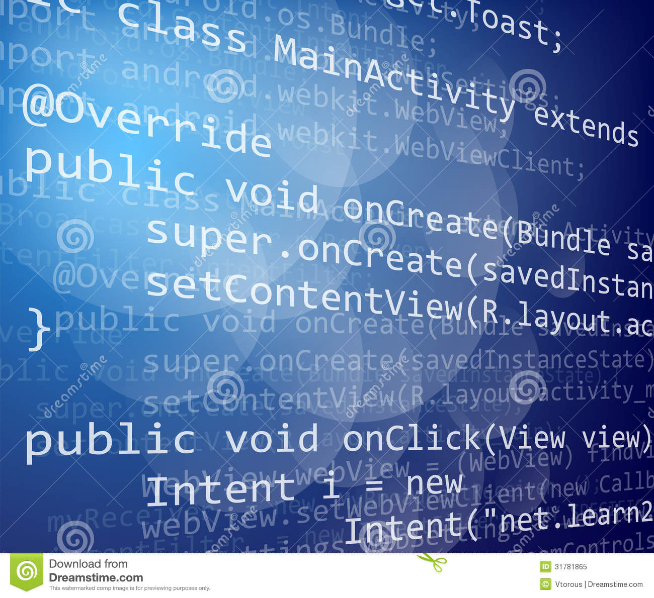Java Code Royalty Free Stock Photo   Image  31781865