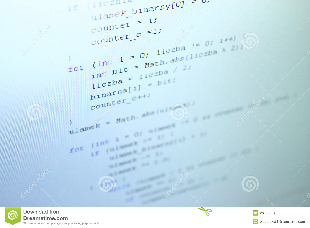 Java Code Stock Images   Image  26398054
