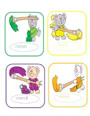 Made With Carson Dellosa Clipart Part 1 Green Yellow Purple Orange