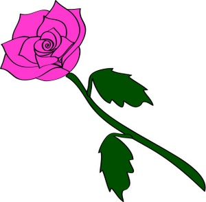 Single Rose Clip Art   Clipart Panda   Free Clipart Images