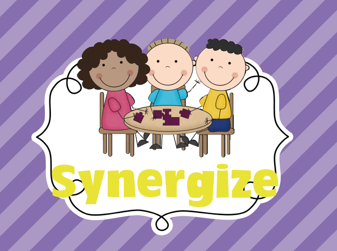 Synergize Clipart Synergize