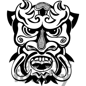 Tiki Clip Art Free 1396057 Ancient Tiki Face Masks Clip Art 003 Jpg