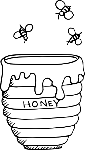 Honey Jar Clipart - Clipart Kid