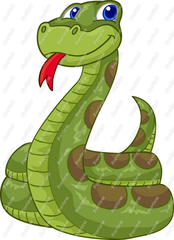 Cartoon Snake Clipart 256 Formats Included With This Cartoon Snake