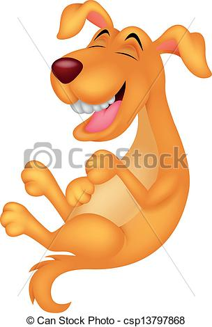 laughing dog clip art - photo #9
