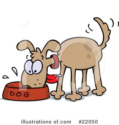 Hungry Dog Clipart - Clipart Suggest