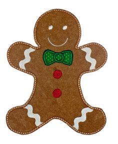 Gingerbread Man Outline   Clipart Best