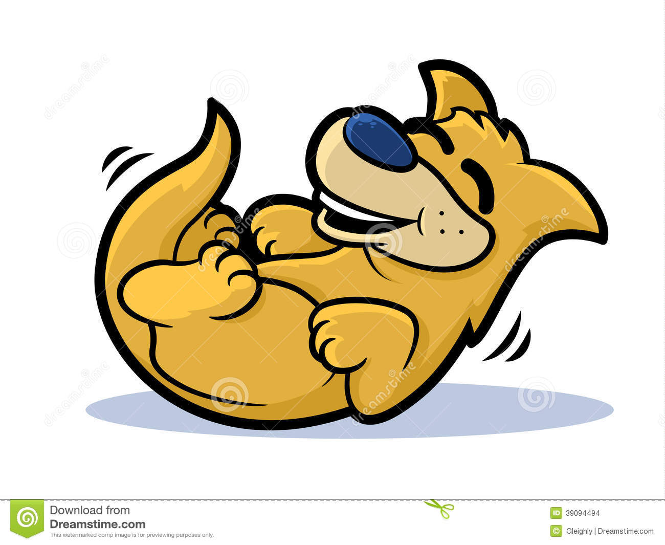 laughing dog clip art - photo #6