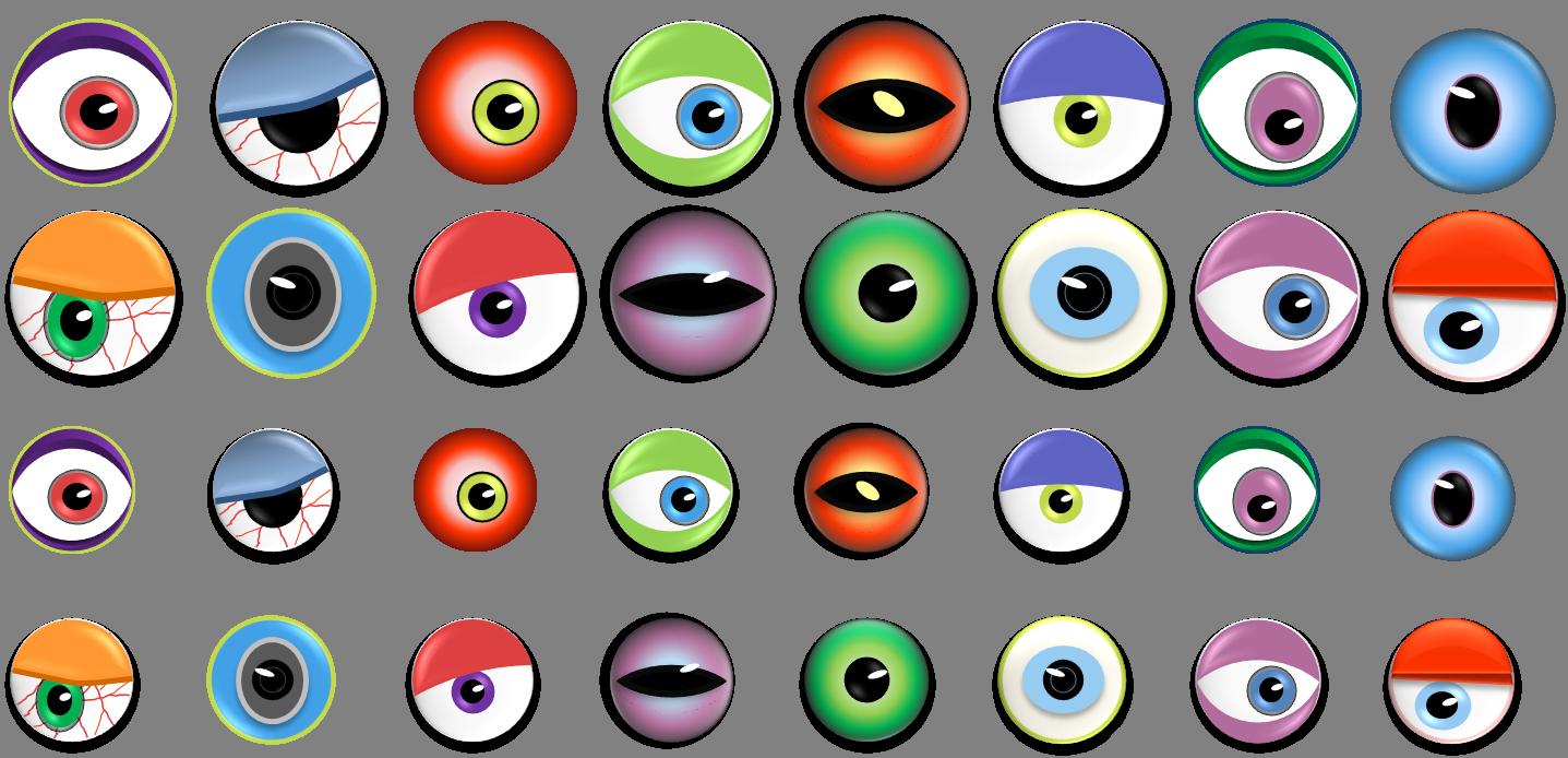 Halloween Eye Clipart - Clipart Kid