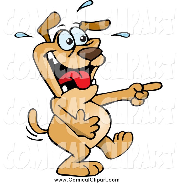 laughing dog clip art - photo #22