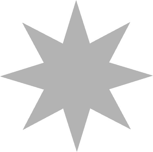 Silver Star Clip Art At Clker Com   Vector Clip Art Online Royalty