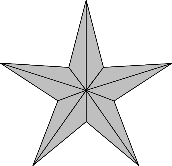 Star Silver Lite Mb Clip Art At Clker Com   Vector Clip Art Online