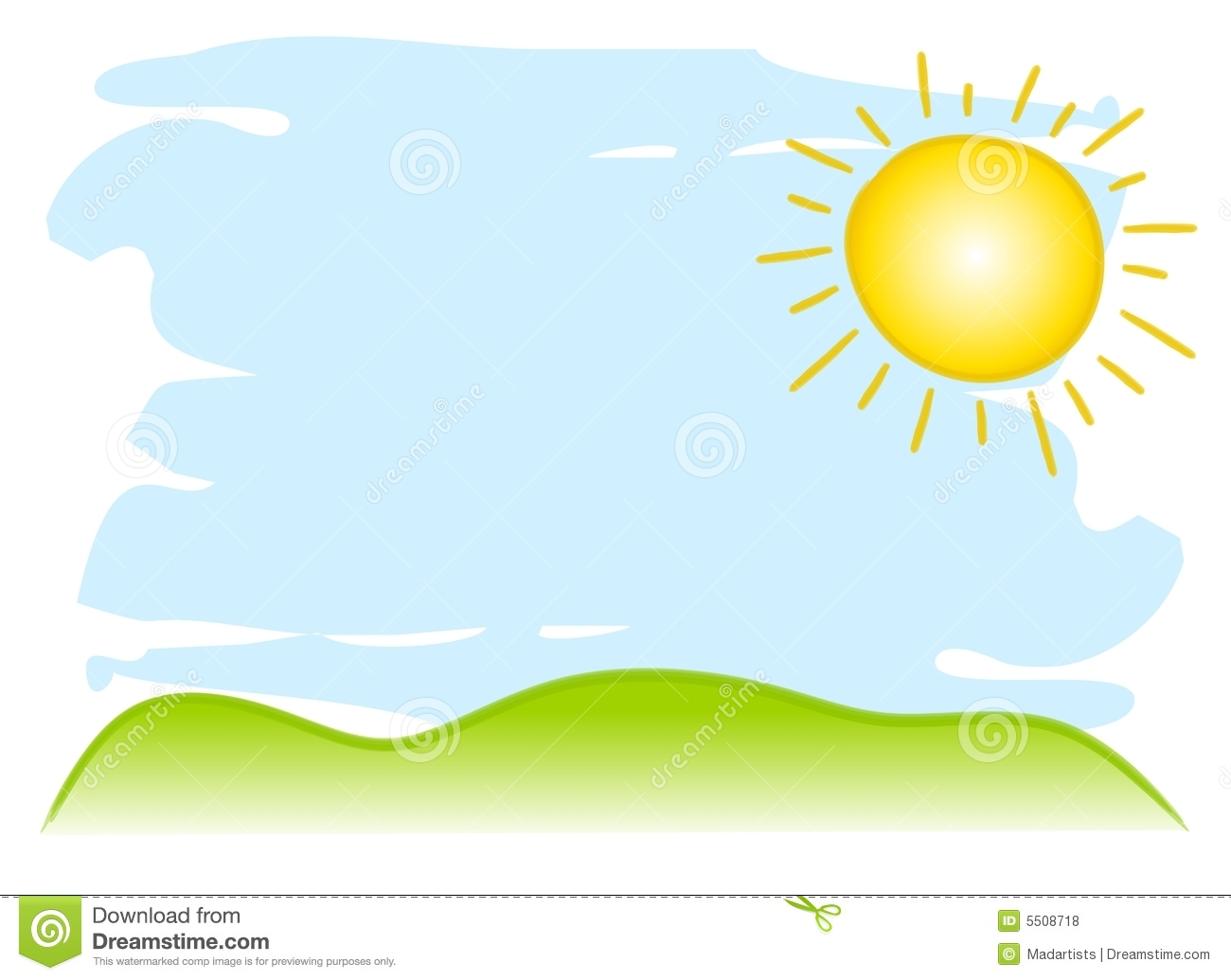 Sunny Sky Clipart - Clipart Suggest