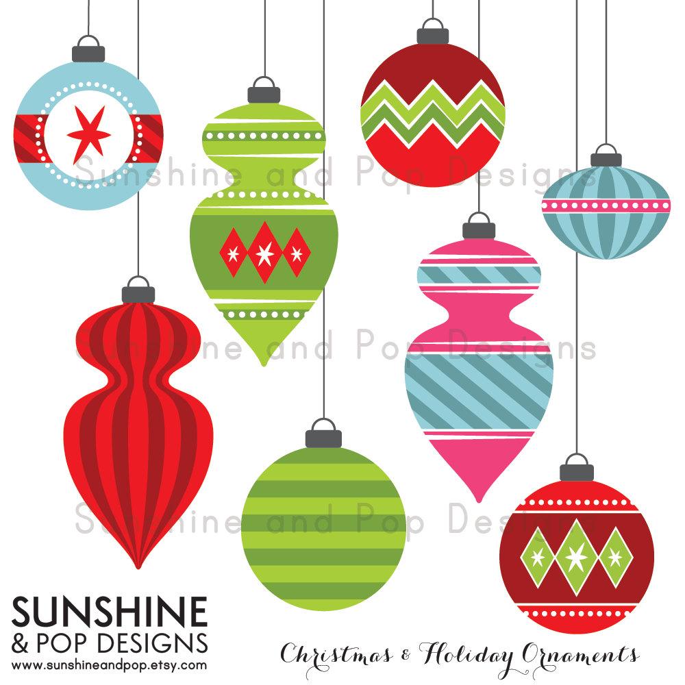 Cute Christmas Ornament Clip Art – Cliparts
