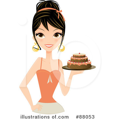 Cake Clipart  88053 By Melisende Vector   Royalty Free  Rf  Stock