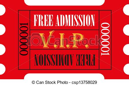vip ticket clipart clipart suggest