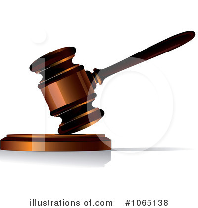 Gavel Clipart  1065138 By Seamartini Graphics   Royalty Free  Rf