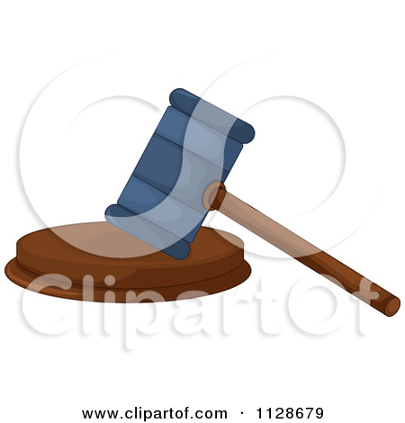 Law Gavel And Block