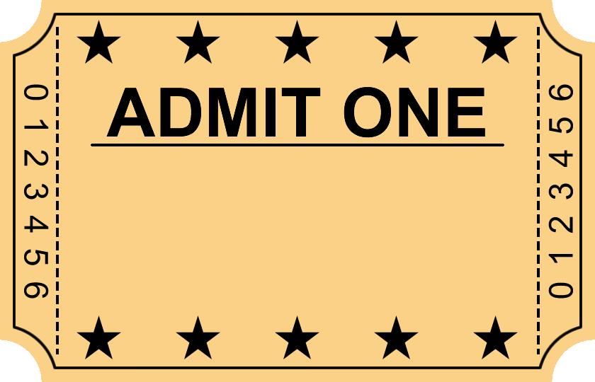 Vip Ticket Clipart Clipart Kid – Vip Ticket Template