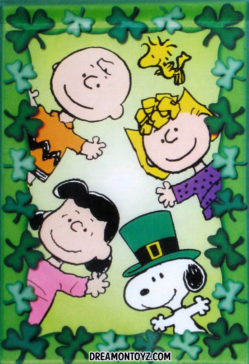 St Patrick's Day Snoopy Clipart - Clipart Kid