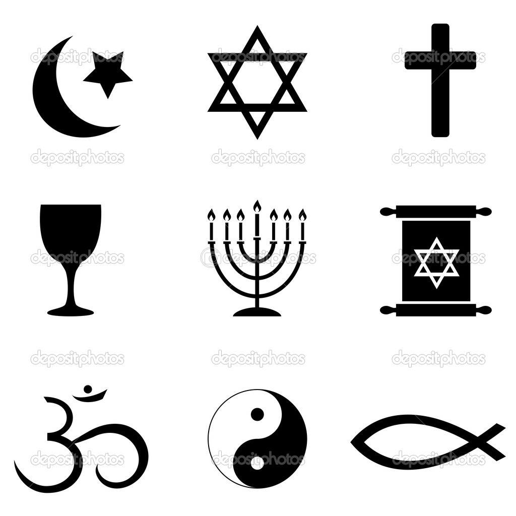 Religios Symbols Icons   Stock Photo   Soleilc  6664166