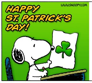 Snoopy St Patricks Day Graphics Code   Snoopy St Patricks Day Comments