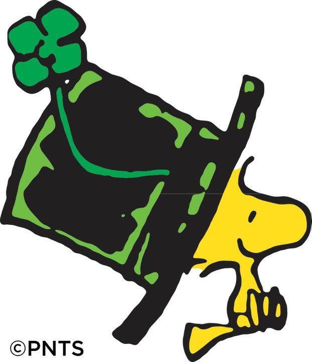 Snoopy St. Patrick's Day Clipart - Clipart Kid