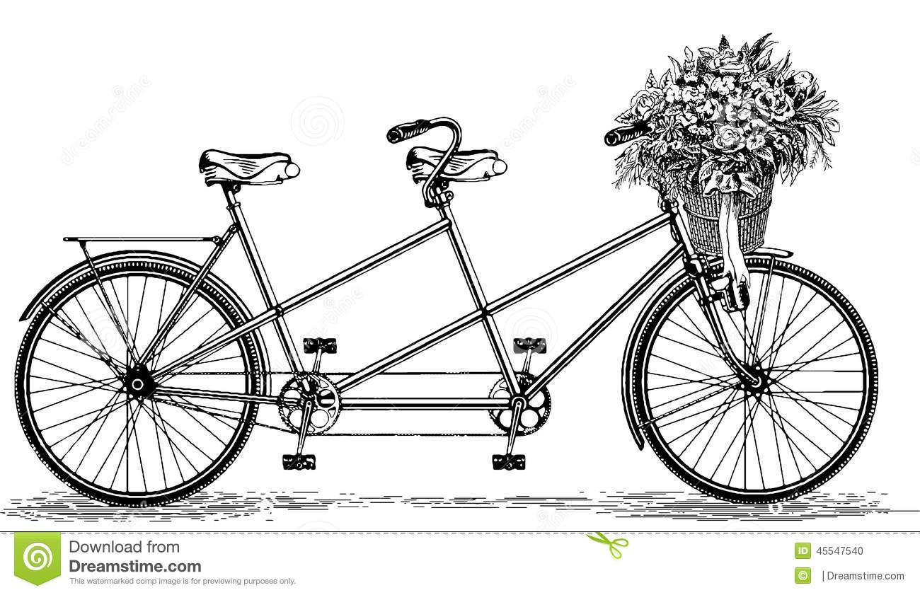 tandem bicycle clip art free - photo #49