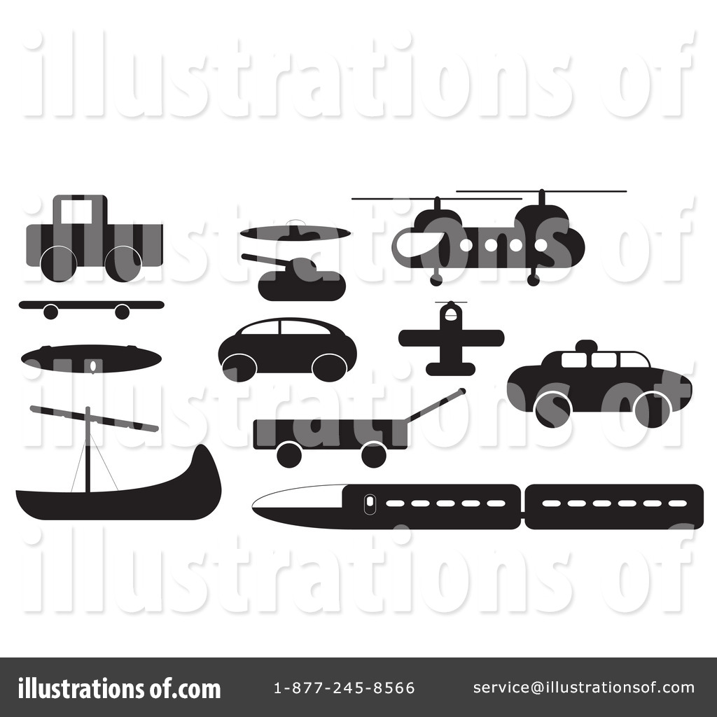 Transportation Clipart  101386 By Jr   Royalty Free  Rf  Stock