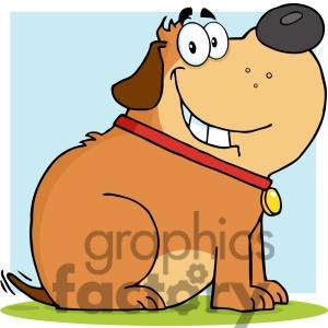 Fat Dog Clipart - Clipart Kid