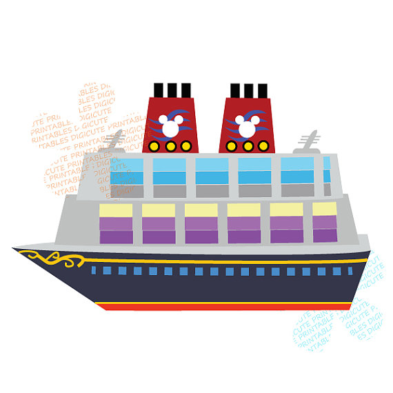 Clip Art Cruise Clip Art disney cruise clipart kid items similar to ship digital clip art personal and