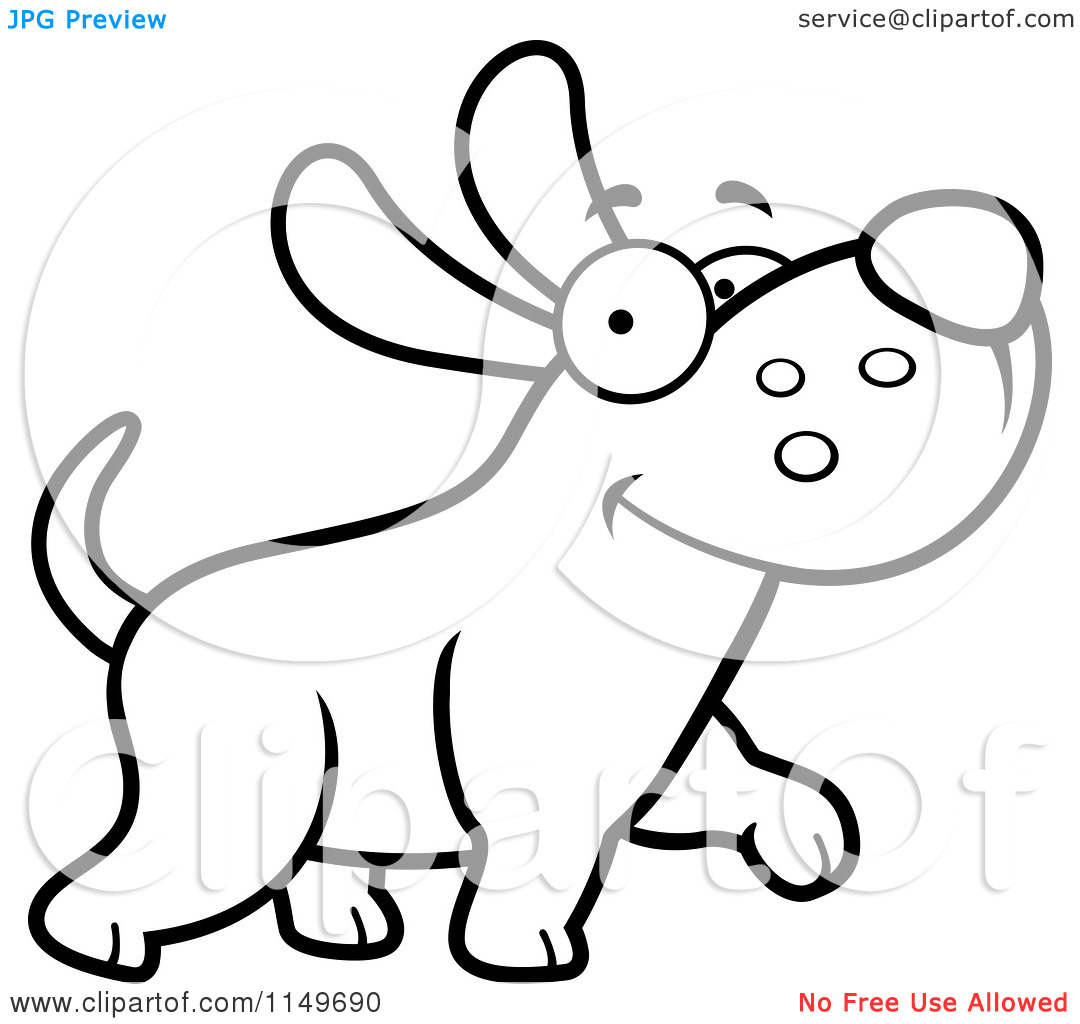 Kitten Clipart Black And White   Clipart Panda Free Clipart Images