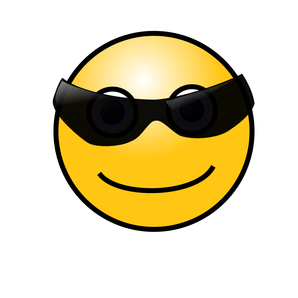 Smiley Face With Nerd Glasses   Clipart Panda   Free Clipart Images