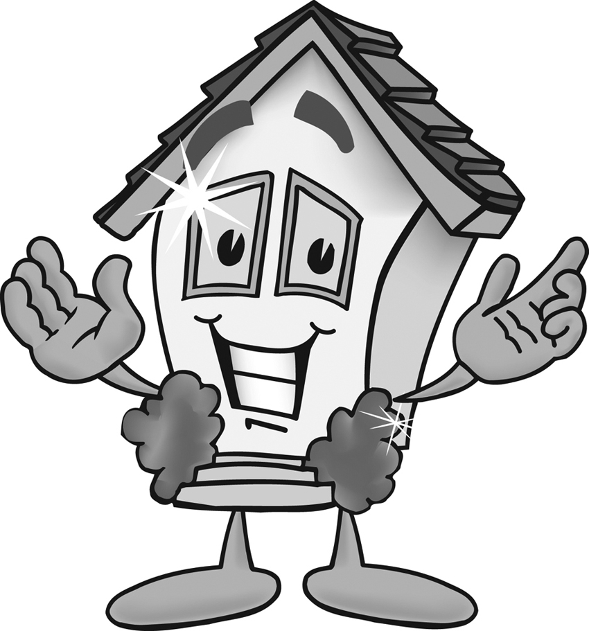 What Are You Smiling At House   Free Clipart Of Com