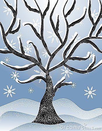 Winter Tree Clip Art – Cliparts