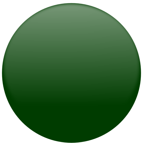 Ball Dark Green Clip Art At Clker Com   Vector Clip Art Online