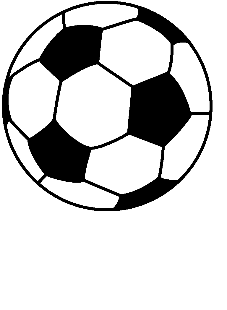 Blue Soccer Ball Clipart - Clipart Kid
