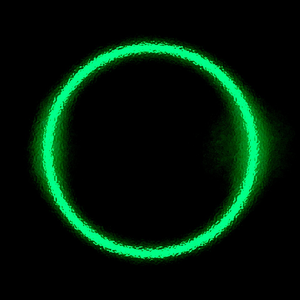 Dark Green Circle Image   Vector Clip Art Online Royalty Free