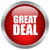 Great Deal Icon   Clipart Graphic
